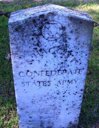 HAGGERT (VETERAN CSA), S - Ouachita County, Arkansas | S HAGGERT (VETERAN CSA) - Arkansas Gravestone Photos