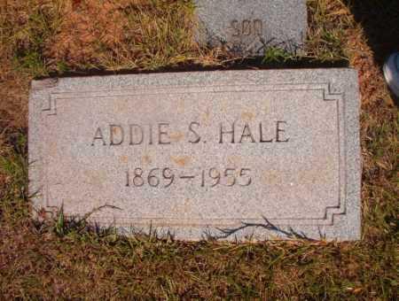 HALE, ADDIE S - Ouachita County, Arkansas | ADDIE S HALE - Arkansas Gravestone Photos