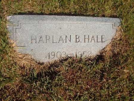 HALE, HARLAN B - Ouachita County, Arkansas   HARLAN B HALE - Arkansas Gravestone Photos