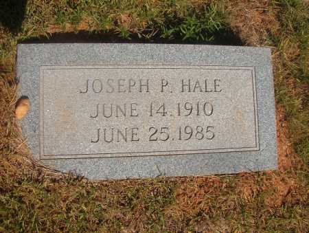 HALE, JOSEPH P - Ouachita County, Arkansas | JOSEPH P HALE - Arkansas Gravestone Photos