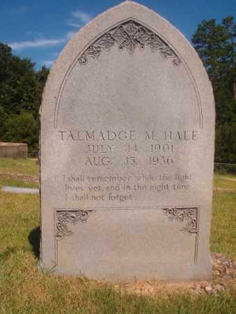 HALE, TALMADGE M - Ouachita County, Arkansas | TALMADGE M HALE - Arkansas Gravestone Photos