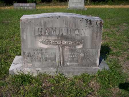 HAMILTON, OSCAR E - Ouachita County, Arkansas | OSCAR E HAMILTON - Arkansas Gravestone Photos