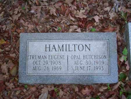 HAMILTON, TRUMAN EUGENE - Ouachita County, Arkansas | TRUMAN EUGENE HAMILTON - Arkansas Gravestone Photos