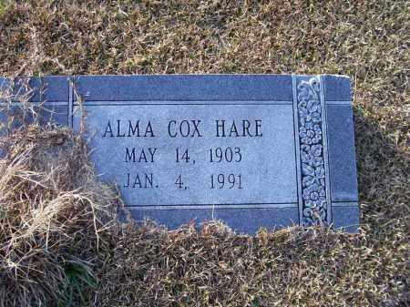 HARE, ALMA - Ouachita County, Arkansas | ALMA HARE - Arkansas Gravestone Photos