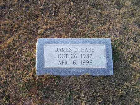 HARE, JAMES D - Ouachita County, Arkansas   JAMES D HARE - Arkansas Gravestone Photos