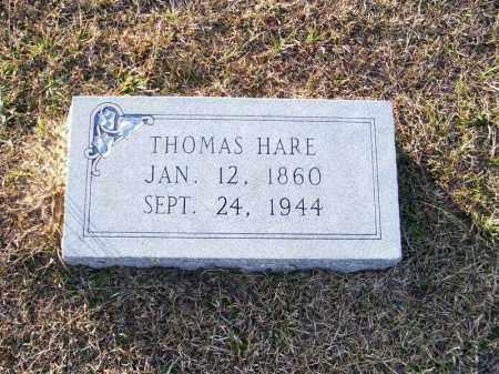 HARE, THOMAS - Ouachita County, Arkansas | THOMAS HARE - Arkansas Gravestone Photos