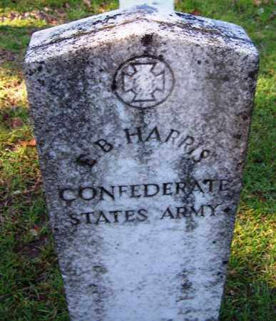 HARRIS (VETERAN CSA), E B - Ouachita County, Arkansas   E B HARRIS (VETERAN CSA) - Arkansas Gravestone Photos