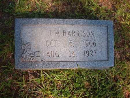 HARRISON, J W - Ouachita County, Arkansas   J W HARRISON - Arkansas Gravestone Photos