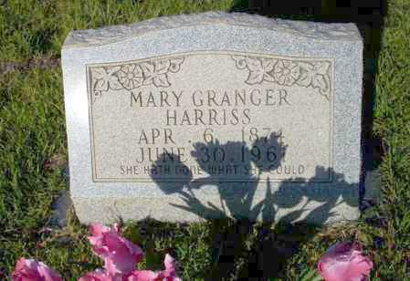 HARRISS, MARY - Ouachita County, Arkansas | MARY HARRISS - Arkansas Gravestone Photos