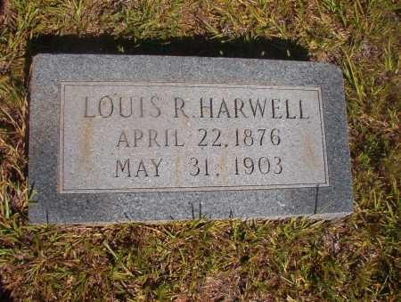 HARWELL, LOUIS R - Ouachita County, Arkansas | LOUIS R HARWELL - Arkansas Gravestone Photos