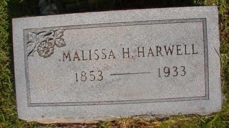 HARWELL, MALISSA H - Ouachita County, Arkansas | MALISSA H HARWELL - Arkansas Gravestone Photos
