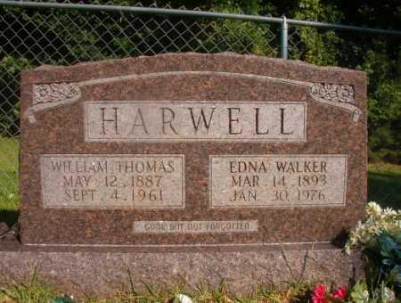 WALKER HARWELL, EDNA - Ouachita County, Arkansas   EDNA WALKER HARWELL - Arkansas Gravestone Photos