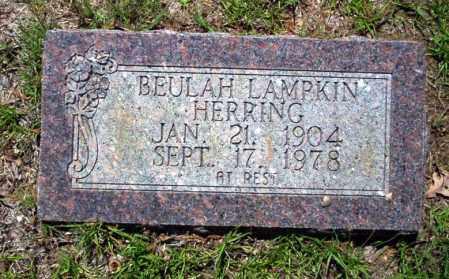 LAMPKIN HERRING, BEULAH - Ouachita County, Arkansas | BEULAH LAMPKIN HERRING - Arkansas Gravestone Photos