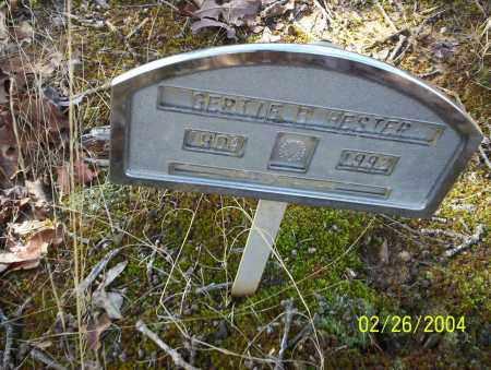 HESTER, GERTIE - Ouachita County, Arkansas | GERTIE HESTER - Arkansas Gravestone Photos