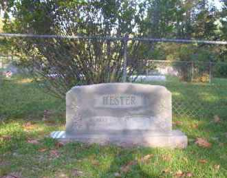 HESTER, MEMORIAL - Ouachita County, Arkansas   MEMORIAL HESTER - Arkansas Gravestone Photos