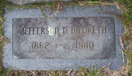 HILDRETH, JEFFERSON D - Ouachita County, Arkansas | JEFFERSON D HILDRETH - Arkansas Gravestone Photos