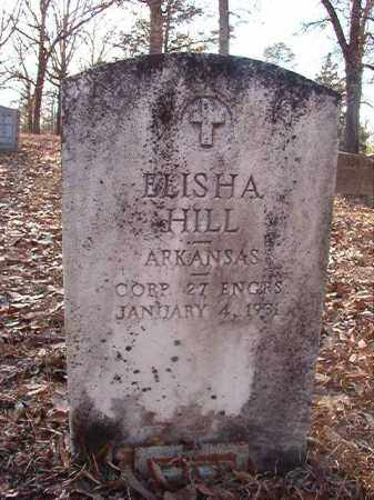 HILL (VETERAN), ELISHA - Ouachita County, Arkansas | ELISHA HILL (VETERAN) - Arkansas Gravestone Photos