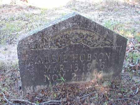 HOBSON, ABBIE - Ouachita County, Arkansas | ABBIE HOBSON - Arkansas Gravestone Photos