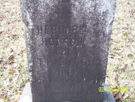 HOBSON, THEODORE - Ouachita County, Arkansas | THEODORE HOBSON - Arkansas Gravestone Photos