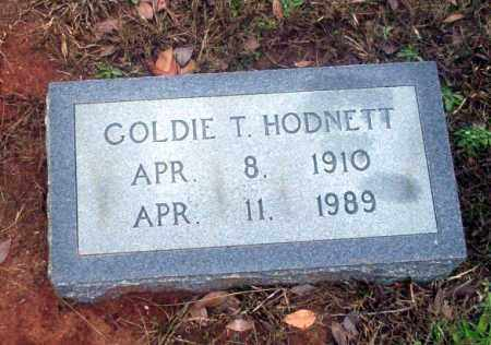 HODNETT, GOLDIE - Ouachita County, Arkansas   GOLDIE HODNETT - Arkansas Gravestone Photos