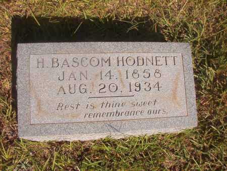 HODNETT, H BASCOM - Ouachita County, Arkansas | H BASCOM HODNETT - Arkansas Gravestone Photos