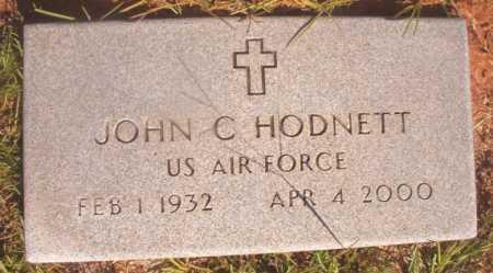 HODNETT (VETERAN), JOHN C - Ouachita County, Arkansas   JOHN C HODNETT (VETERAN) - Arkansas Gravestone Photos