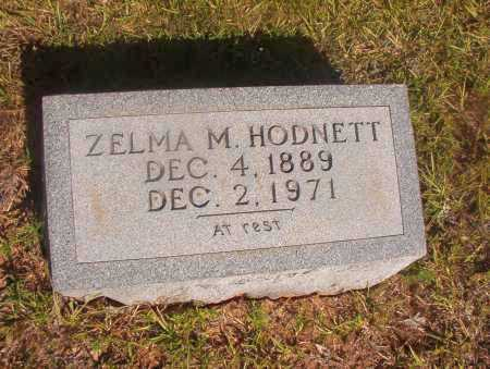 HODNETT, ZELMA M - Ouachita County, Arkansas | ZELMA M HODNETT - Arkansas Gravestone Photos