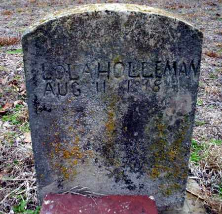 HOLLEMAN, LOLA - Ouachita County, Arkansas | LOLA HOLLEMAN - Arkansas Gravestone Photos