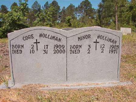 HOLLIMAN, CORE - Ouachita County, Arkansas | CORE HOLLIMAN - Arkansas Gravestone Photos