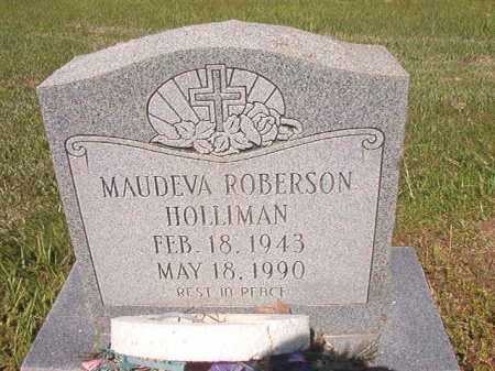 HOLLIMAN, MAUDEVA - Ouachita County, Arkansas | MAUDEVA HOLLIMAN - Arkansas Gravestone Photos