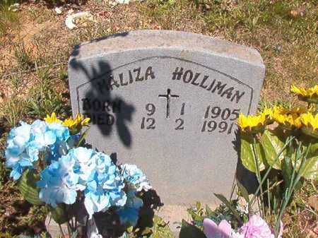 HOLLIMAN, MALIZA - Ouachita County, Arkansas | MALIZA HOLLIMAN - Arkansas Gravestone Photos