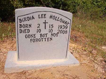 HOLLOWAY, BIRDIA LEE - Ouachita County, Arkansas   BIRDIA LEE HOLLOWAY - Arkansas Gravestone Photos