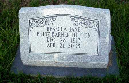 HUTON, REBECCA JANE - Ouachita County, Arkansas | REBECCA JANE HUTON - Arkansas Gravestone Photos