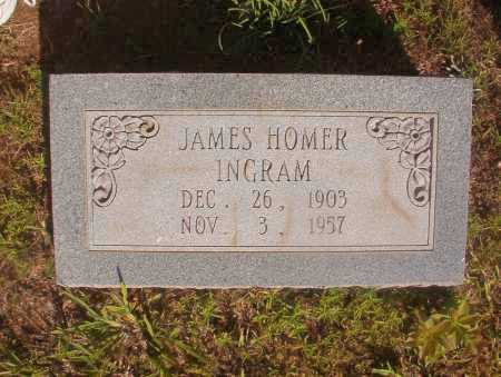 INGRAM, JAMES HOMER - Ouachita County, Arkansas   JAMES HOMER INGRAM - Arkansas Gravestone Photos