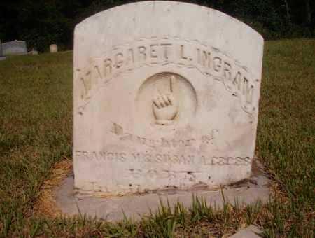 CROSS INGRAM, MARGARET L - Ouachita County, Arkansas   MARGARET L CROSS INGRAM - Arkansas Gravestone Photos