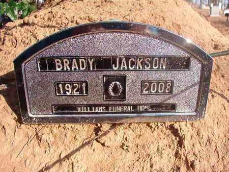 JACKSON, BRADY - Ouachita County, Arkansas | BRADY JACKSON - Arkansas Gravestone Photos