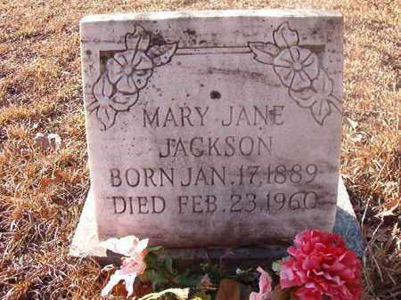 JACKSON, MARY JANE - Ouachita County, Arkansas   MARY JANE JACKSON - Arkansas Gravestone Photos