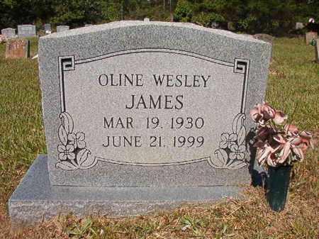 JAMES, OLINE WESLEY - Ouachita County, Arkansas | OLINE WESLEY JAMES - Arkansas Gravestone Photos