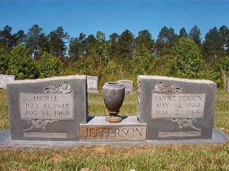 JEFFERSON, FANNIE - Ouachita County, Arkansas | FANNIE JEFFERSON - Arkansas Gravestone Photos