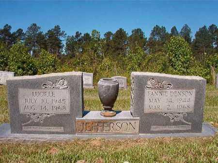 JEFFERSON, LUCILLE - Ouachita County, Arkansas | LUCILLE JEFFERSON - Arkansas Gravestone Photos