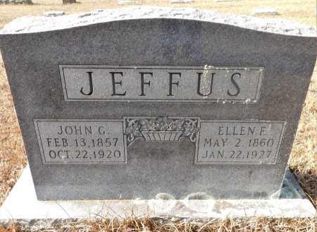 JEFFUS, JOHN GREEN - Ouachita County, Arkansas   JOHN GREEN JEFFUS - Arkansas Gravestone Photos