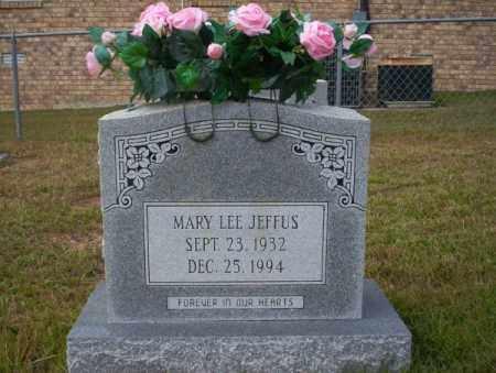 JEFFUS, MARY LEE - Ouachita County, Arkansas   MARY LEE JEFFUS - Arkansas Gravestone Photos