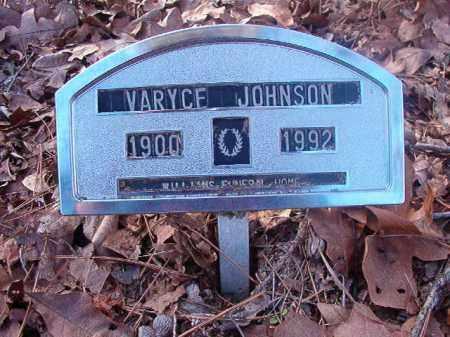 JOHNSON, VARYCE - Ouachita County, Arkansas   VARYCE JOHNSON - Arkansas Gravestone Photos