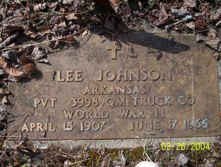 JOHNSON (VETERAN WWII), LEE - Ouachita County, Arkansas | LEE JOHNSON (VETERAN WWII) - Arkansas Gravestone Photos