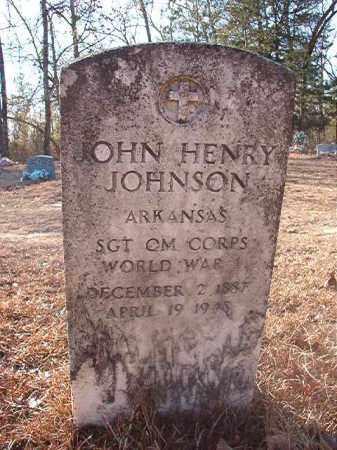JOHNSON (VETERAN WWI), JOHN HENRY - Ouachita County, Arkansas | JOHN HENRY JOHNSON (VETERAN WWI) - Arkansas Gravestone Photos