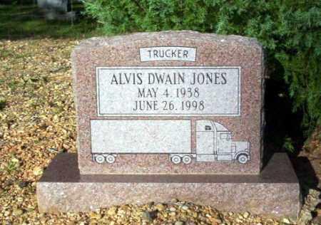 JONES, ALVIS DWAIN - Ouachita County, Arkansas | ALVIS DWAIN JONES - Arkansas Gravestone Photos