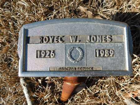 JONES, ROYEC W - Ouachita County, Arkansas | ROYEC W JONES - Arkansas Gravestone Photos