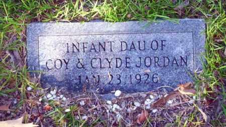 JORDAN, INFANT DAUGHTER - Ouachita County, Arkansas | INFANT DAUGHTER JORDAN - Arkansas Gravestone Photos