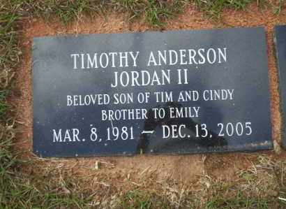 JORDAN II, TIMOTHY ANDERSON - Ouachita County, Arkansas | TIMOTHY ANDERSON JORDAN II - Arkansas Gravestone Photos