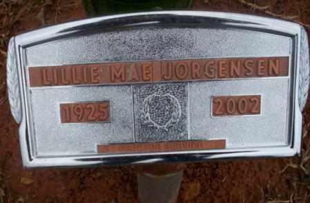 JORGENSEN, LILLIE MAE - Ouachita County, Arkansas   LILLIE MAE JORGENSEN - Arkansas Gravestone Photos